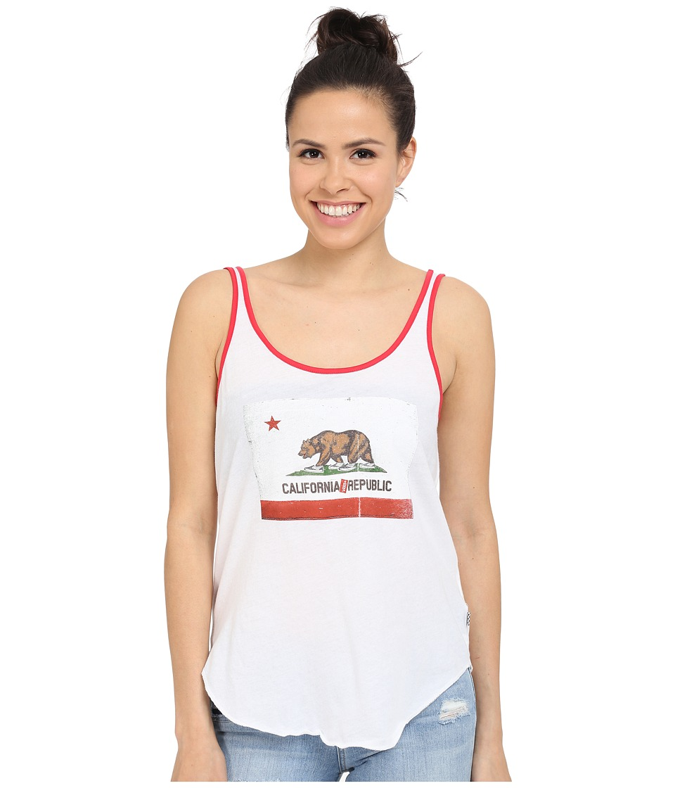 Vans - Cali Oso Top (White) Women's Sleeveless