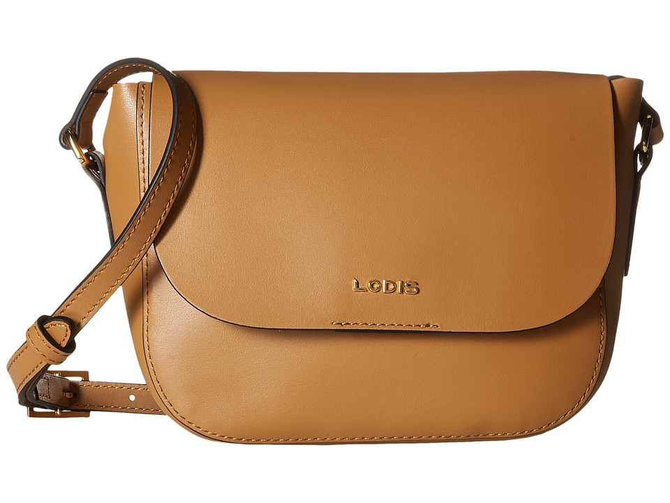 Lodis Accessories - Blair Bailey Crossbody (Nutmeg/Cobalt) Cross Body Handbags