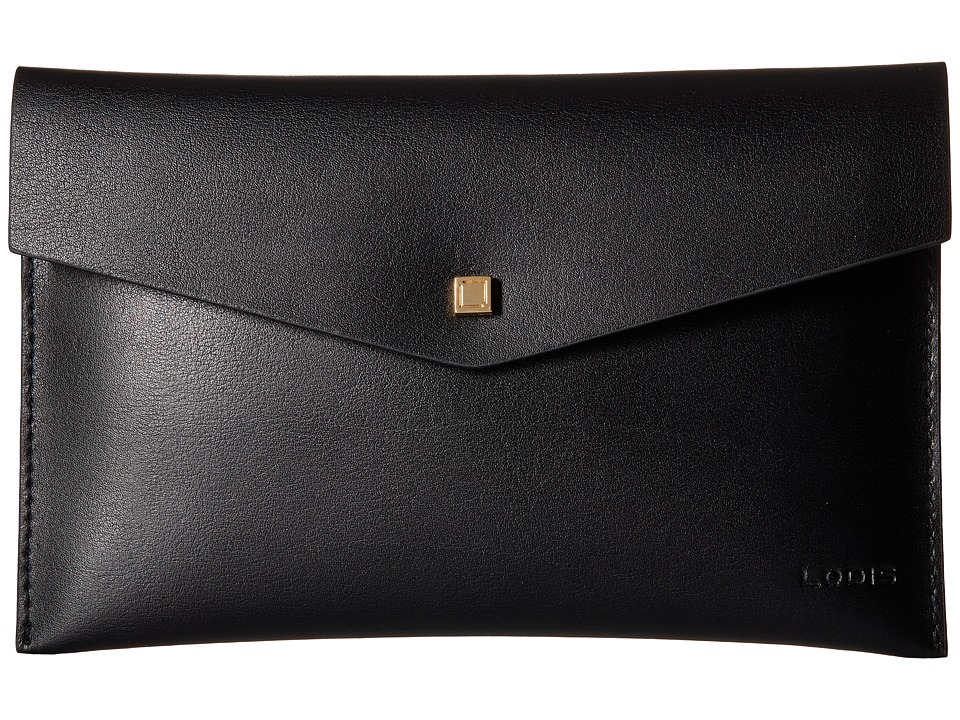 Lodis Accessories - Blair Deena Pouch (Black/Cobalt) Wallet