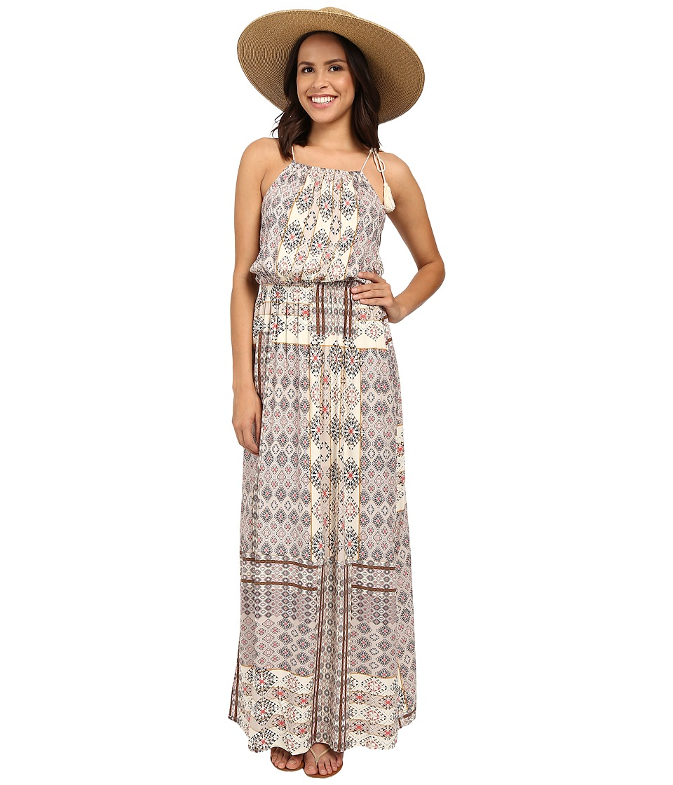 ONLY - Nova Desert Deluxe Sleeveless Maxi Dress (Bone White) Women's Dress