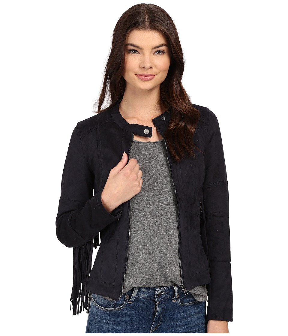ONLY - Pandora Faux Suede Jacket (Vulcan) Women's Coat