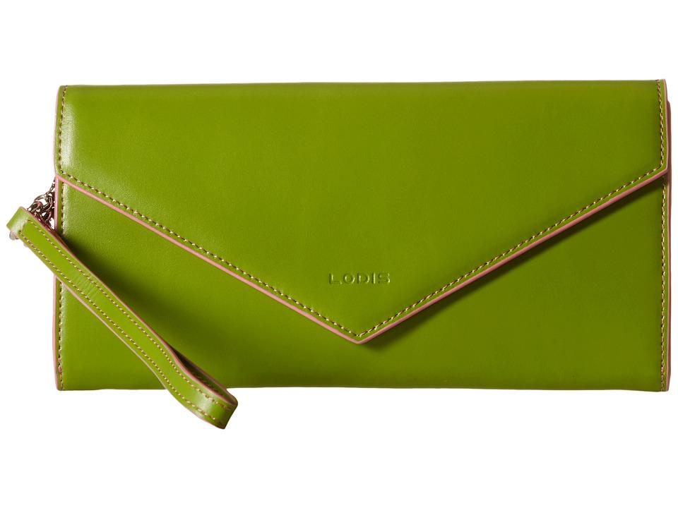 Lodis Accessories - Audrey Nina Crossbody (Kiwi/Pink) Cross Body Handbags