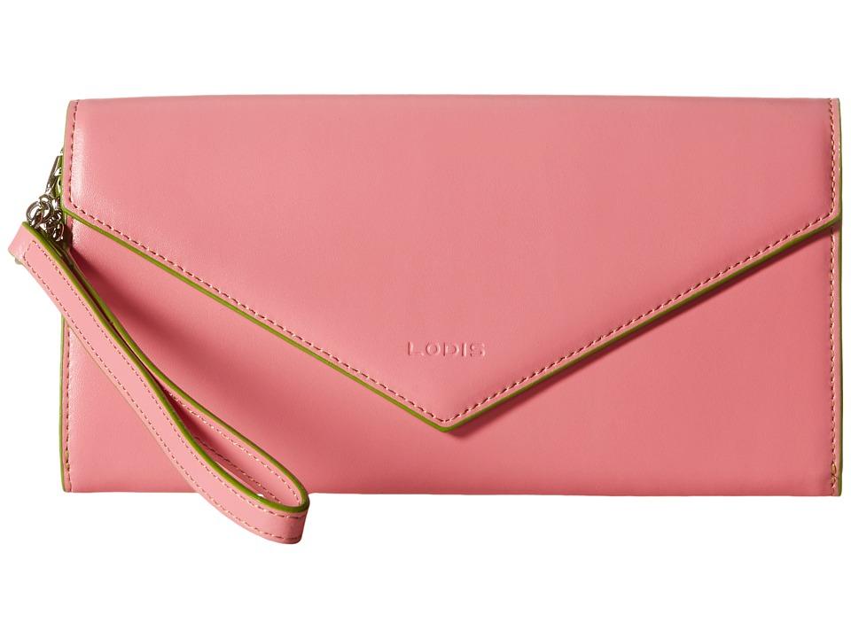 Lodis Accessories - Audrey Nina Crossbody (Pink/Kiwi) Cross Body Handbags