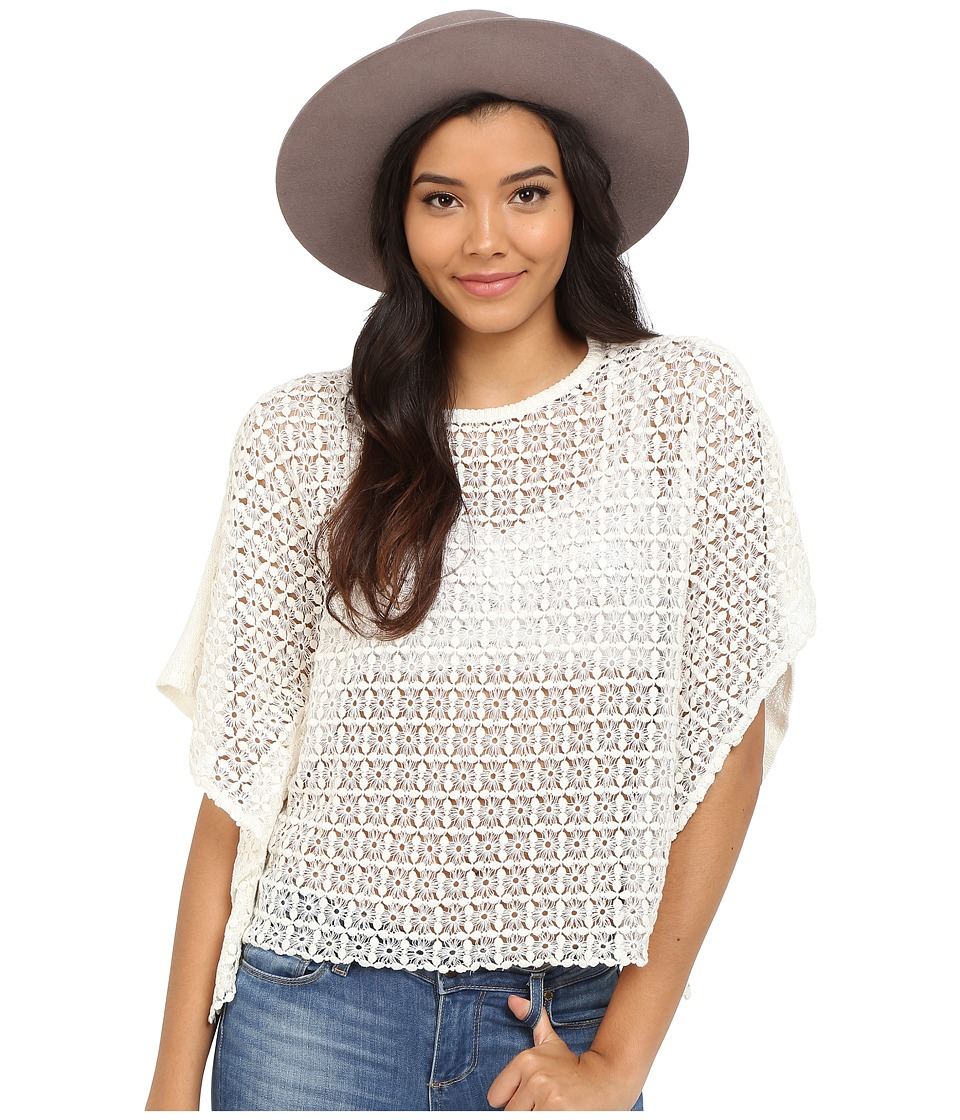 ONLY - Amya Poncho Knit (Cloud Dancer) Women's Blouse
