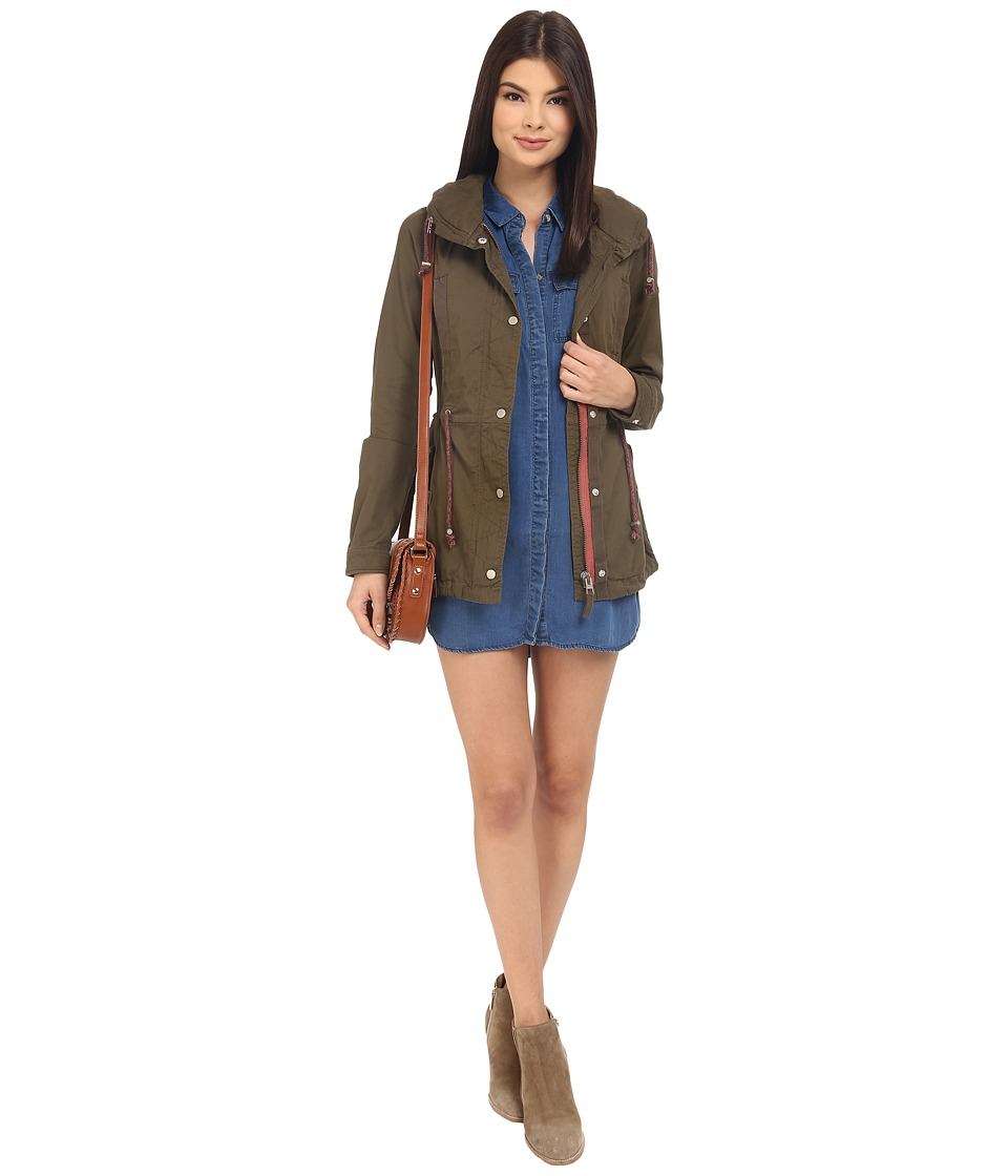 ONLY - Vivienne Parka Jacket (Tarmac) Women's Coat
