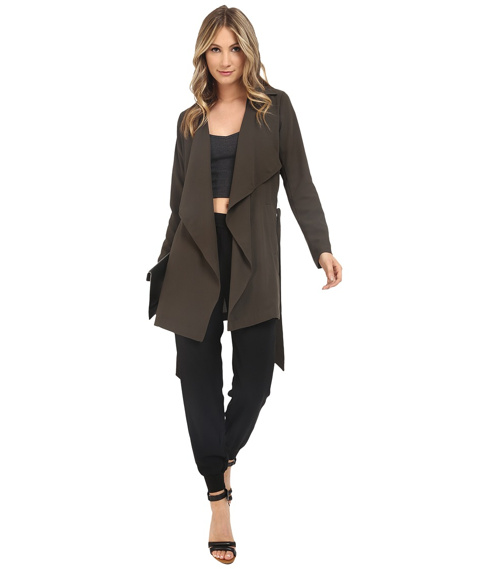 ONLY - New Whitness Trench Coat (Peat) Women's Coat