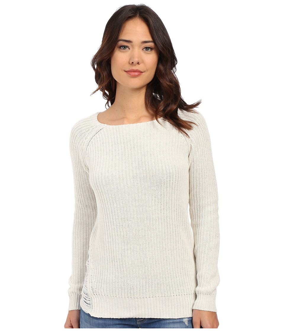 ONLY - Destiny Long Sleeve Pullover (Pumice Stone) Women's Sweater