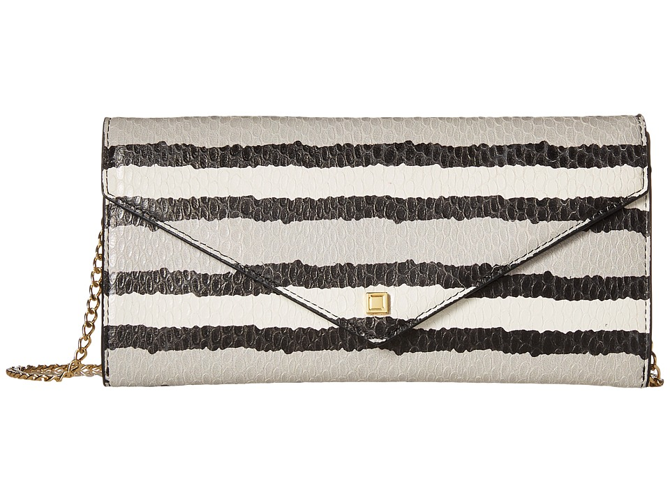 Lodis Accessories - Montserrat Nina Crossbody (Grey) Cross Body Handbags