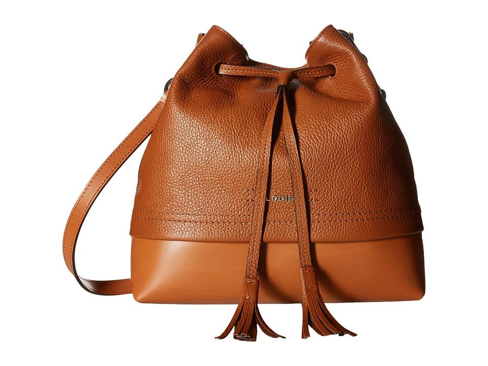 Lodis Accessories - Kate Cara Convertible Drawstring (Toffee) Drawstring Handbags