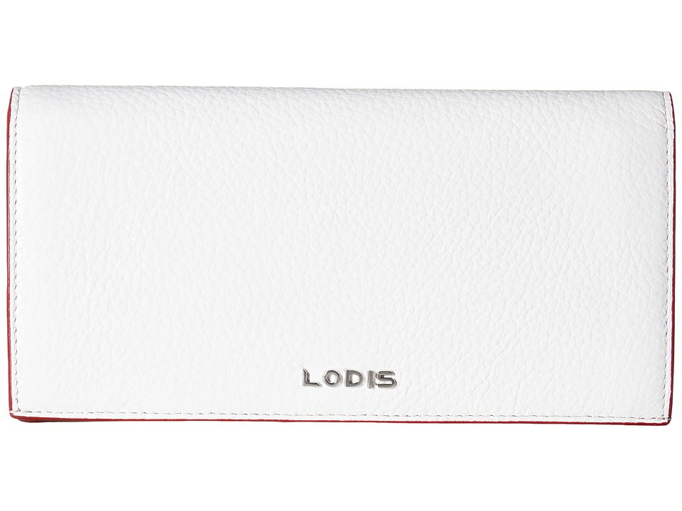 Lodis Accessories - Kate Kia Wallet (Black/White) Wallet Handbags