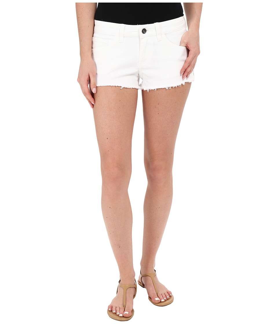 Vans - Destroyed Mini II Shorts in White (White) Women's Shorts