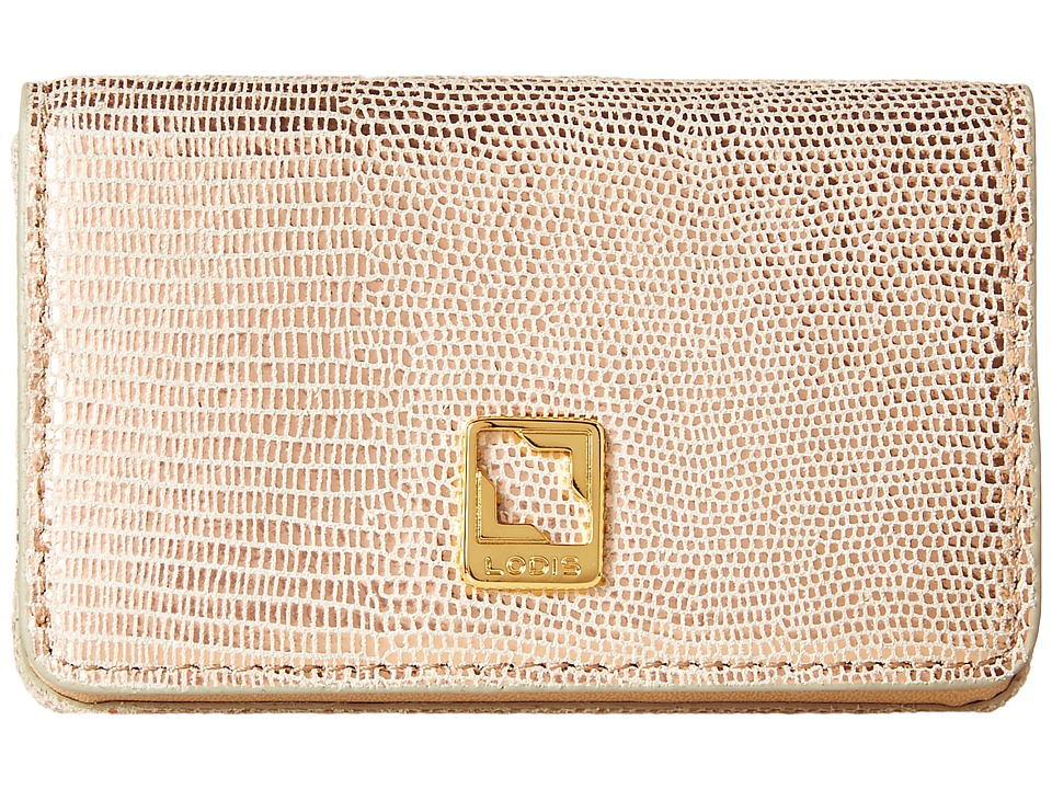 Lodis Accessories - Sophia Glamorous Mini Card Case (Rose Gold) Credit card Wallet