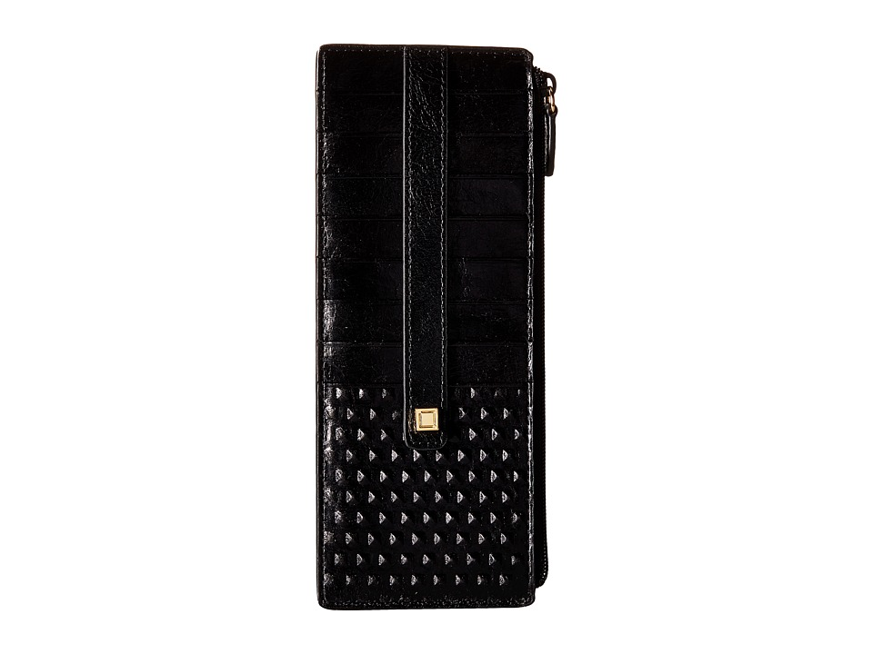 Lodis Accessories - Cadiz Credit Card Case with Zipper Pocket (Black) Credit card Wallet