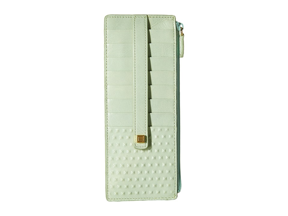 Lodis Accessories - Cadiz Credit Card Case with Zipper Pocket (Mint) Credit card Wallet