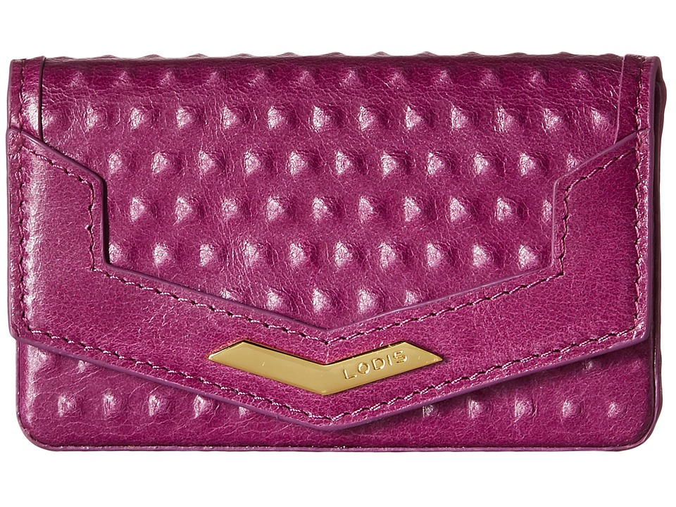 Lodis Accessories - Cadiz Maya Card Case (Iris) Credit card Wallet