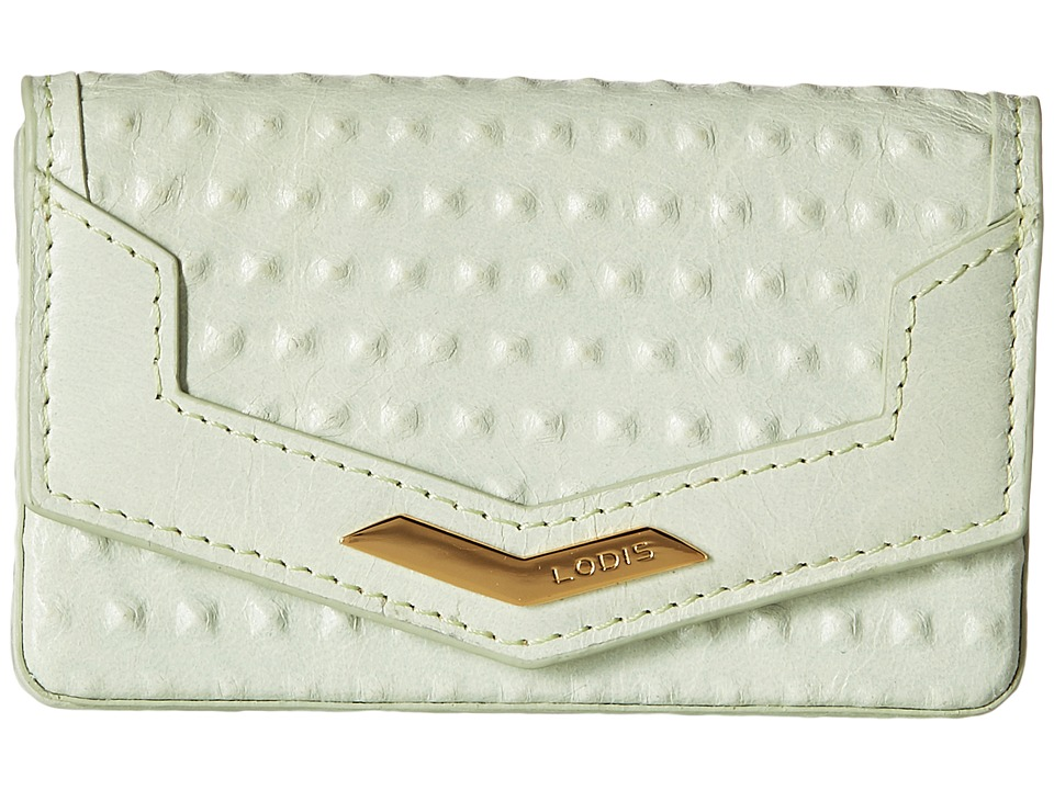 Lodis Accessories - Cadiz Maya Card Case (Mint) Credit card Wallet