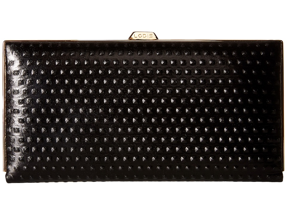 Lodis Accessories - Cadiz Quinn Clutch Wallet (Black) Wallet Handbags