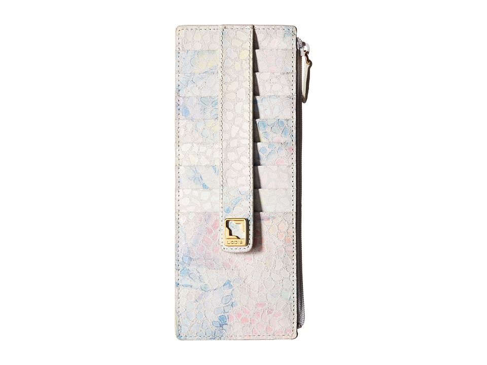 Lodis Accessories - Vanessa Catalonia Credit Card Case with Zipper Pocket (Multi) Credit card Wallet