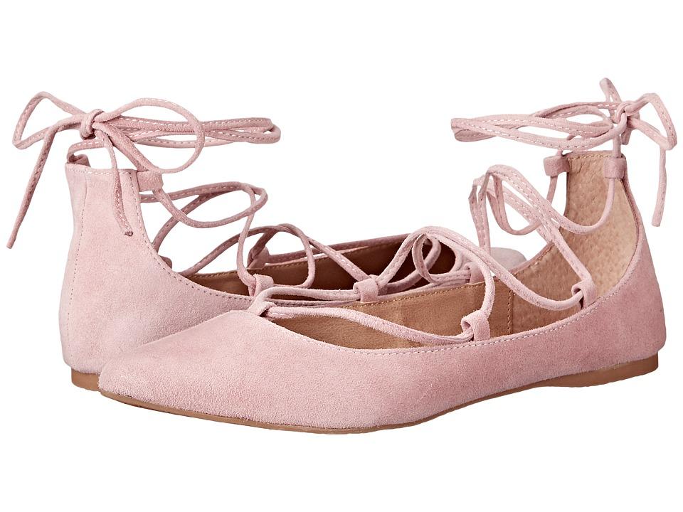 Steve Madden - Eleanorr (Rose Suede) Women's Flat Shoes