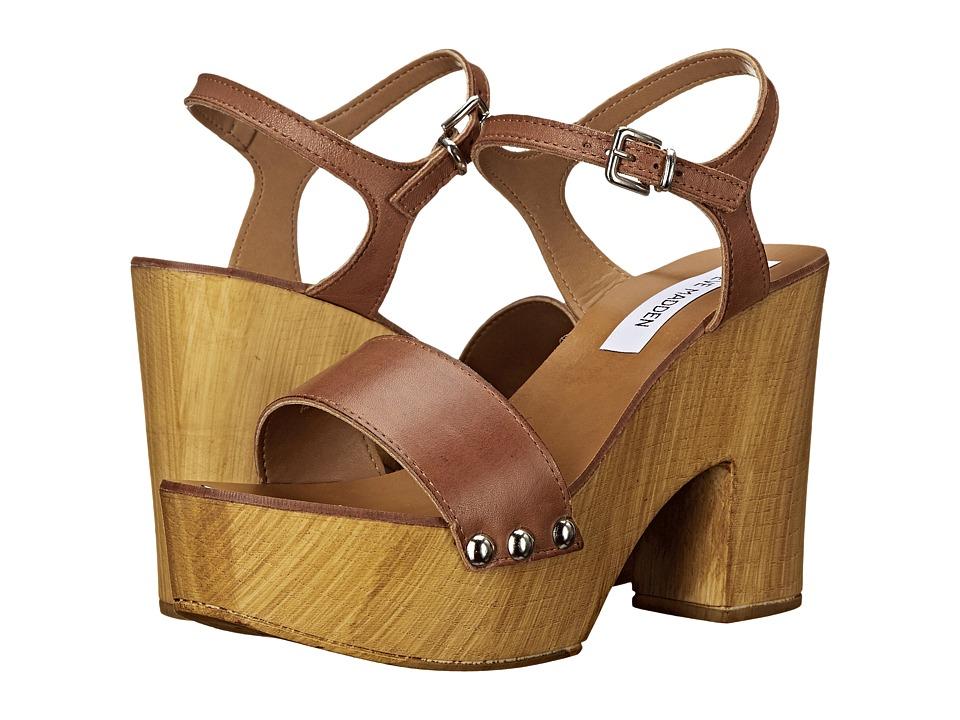 Steve Madden - Lavii (Cognac Leather) High Heels