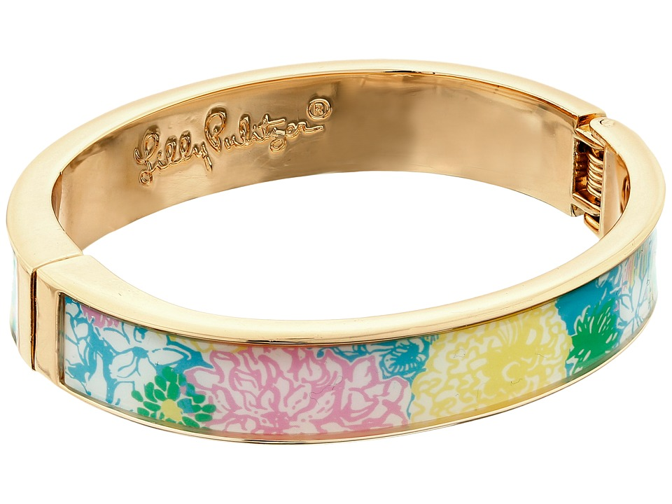 Lilly Pulitzer - Boca Bangle (Multi Hibiscus Stroll) Bracelet