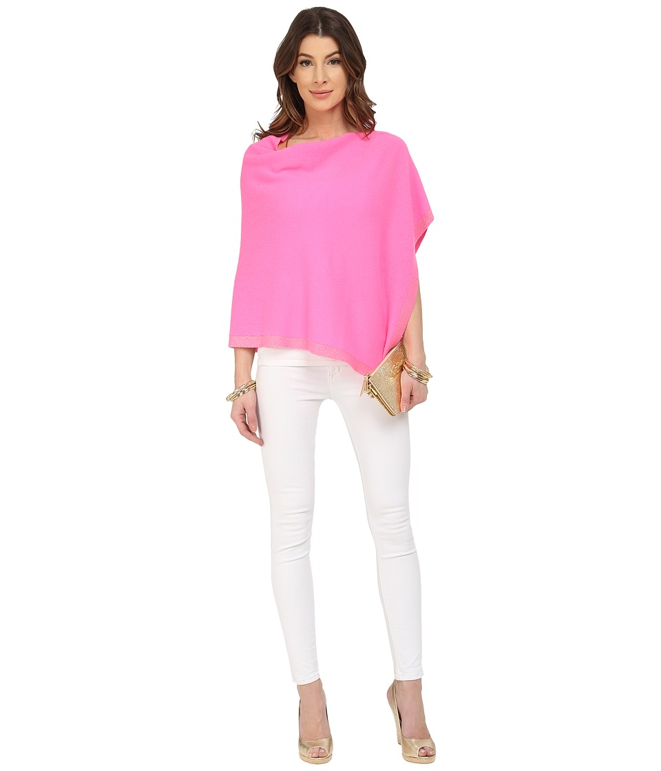 Lilly Pulitzer - Heather Cashmere Wrap (Kir Royal Pink) Women's Sweater