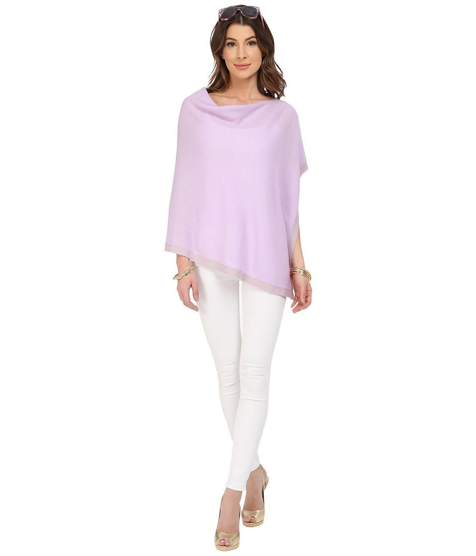 Lilly Pulitzer - Heather Cashmere Wrap (Iced Lilac) Women's Sweater