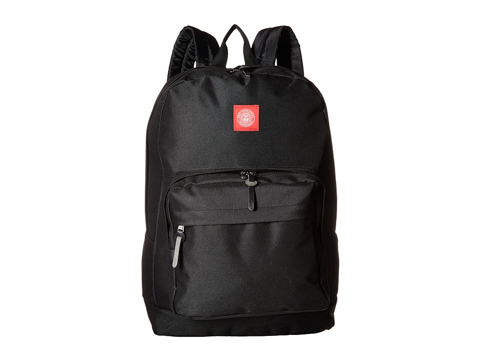 Obey - Revolt Red Juvee Backpack (Black) Backpack Bags