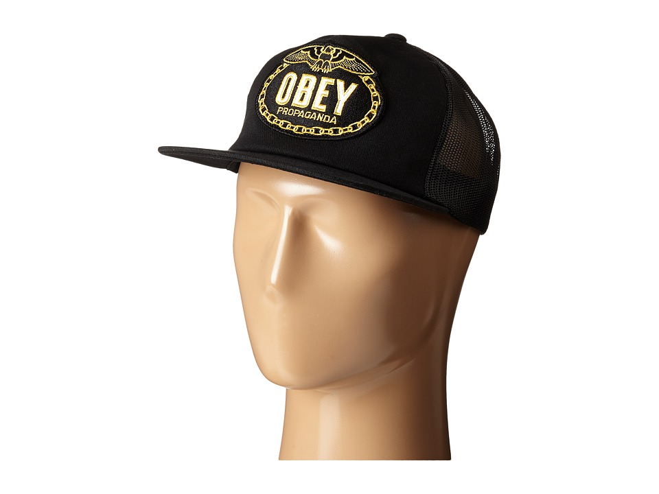 Obey - Chains Trucker Hat (Black) Caps