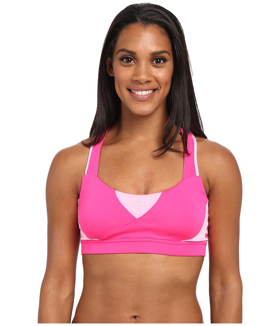 adidas - Supernova Bra W (Shock Pink/Pink Glow) Women's Bra