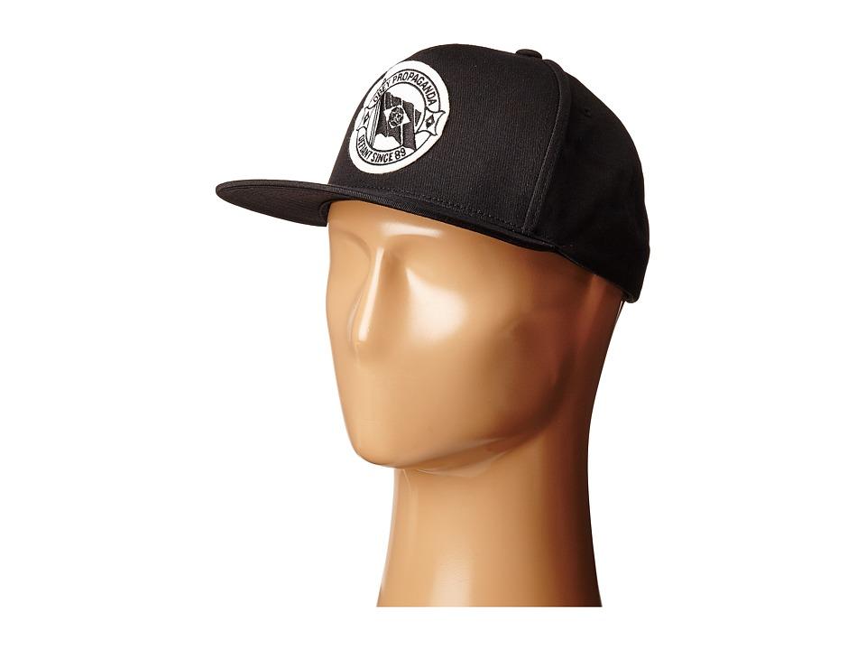 Obey - Defiant Snapback Hat (Black) Caps