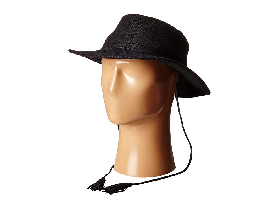 Obey - Zulu Fedora (Black) Fedora Hats