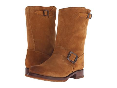Frye - Veronica Short (Cognac Suede) Cowboy Boots