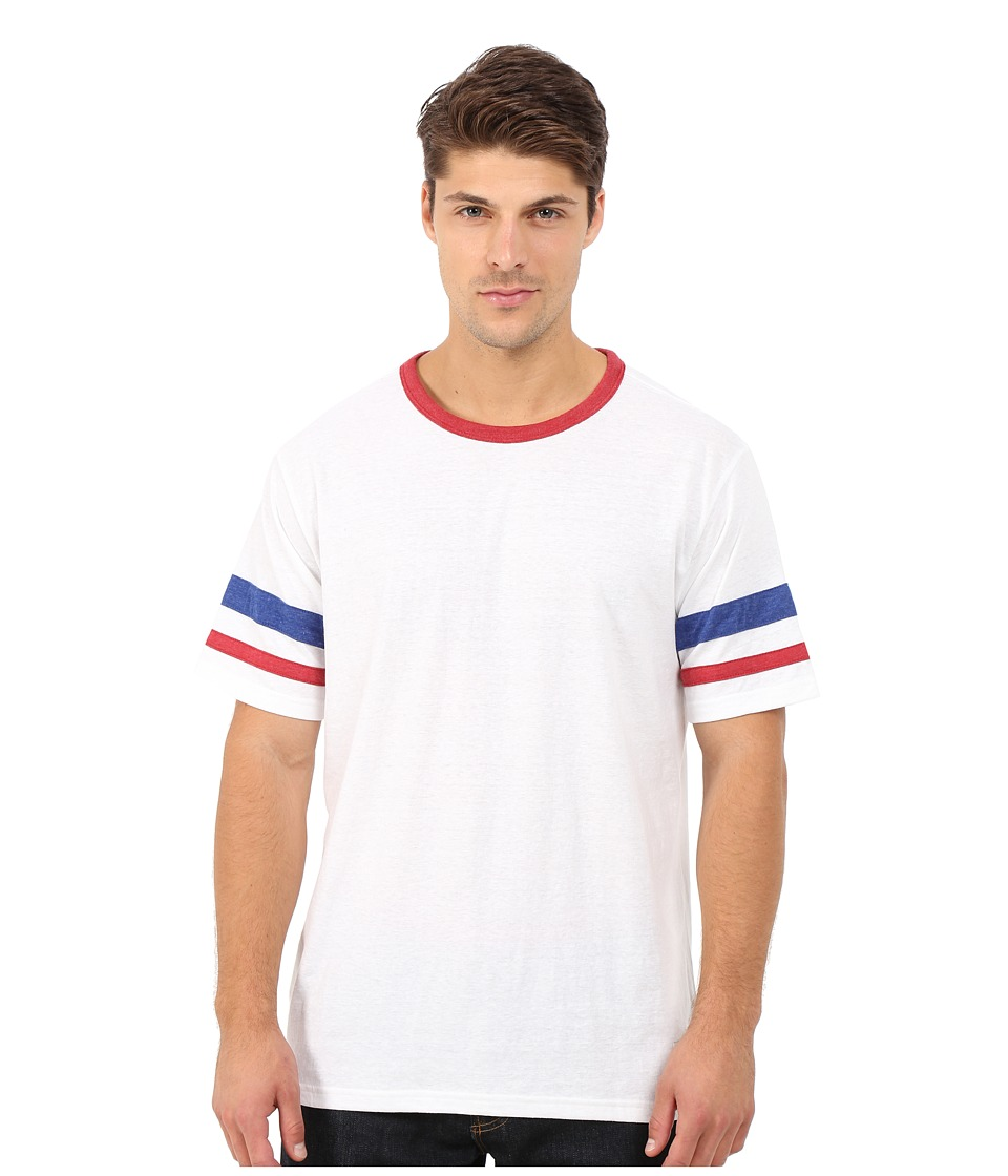 Matix Clothing Company - Standard Check T-Shirt (White) Men's T Shirt