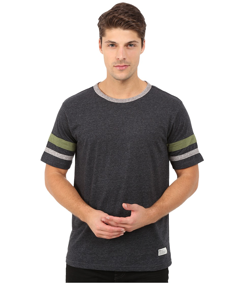 Matix Clothing Company - Standard Check T-Shirt (Charcoal) Men's T Shirt