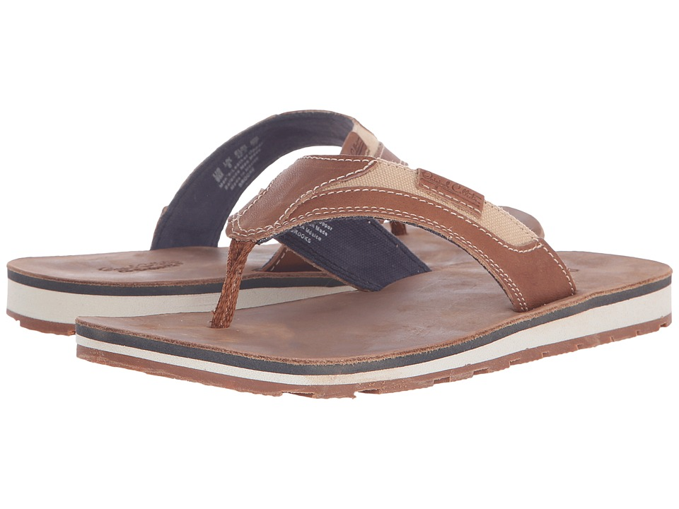 Dr. Scholl's - BROOKS - Original Collection (Rust Leather) Men's Sandals