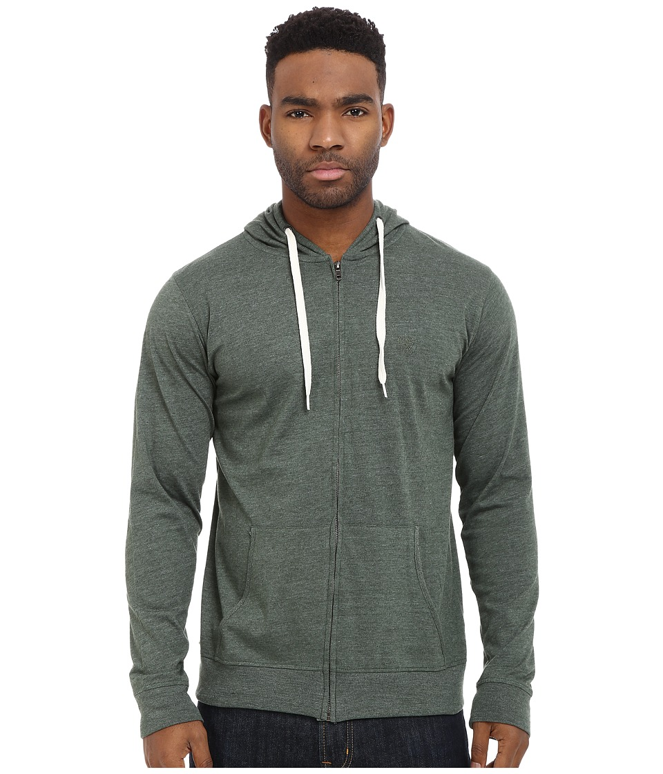 Matix Clothing Company - World Zip Knit (Forest Heather) Men's Clothing