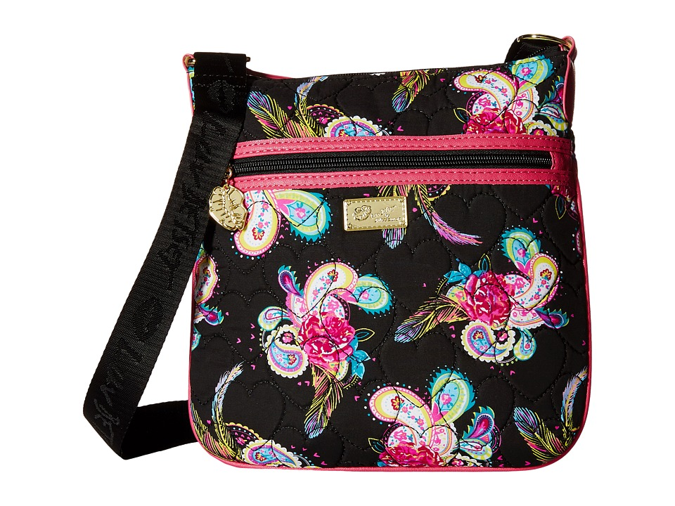 Luv Betsey - Luna Crossbody (Black Paisley) Cross Body Handbags