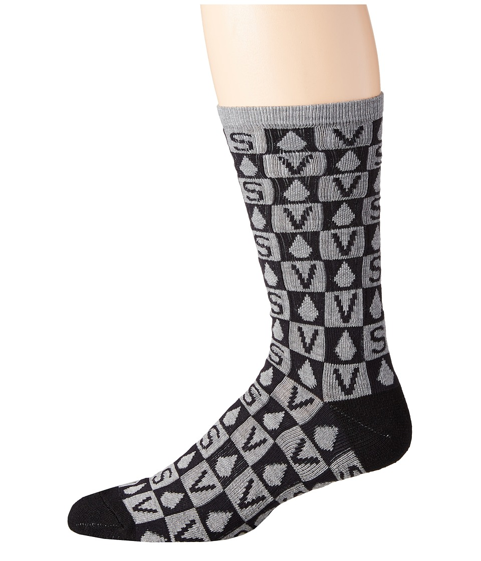 Volcom - Token (Cool Grey) Men's Crew Cut Socks Shoes