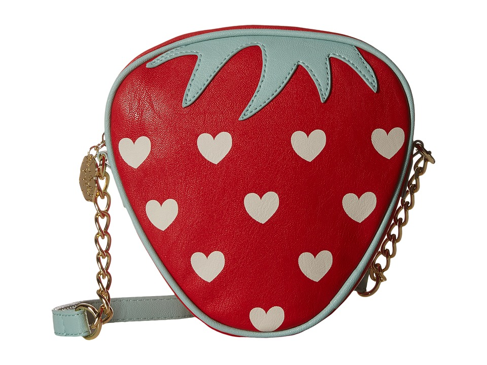 Luv Betsey - Sweet Kitch (Red) Handbags