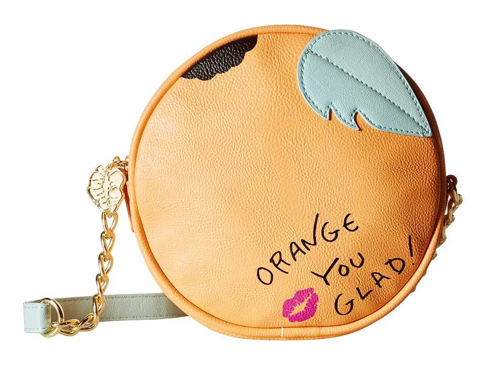 Luv Betsey - Fresh Kitch (Orange) Cross Body Handbags