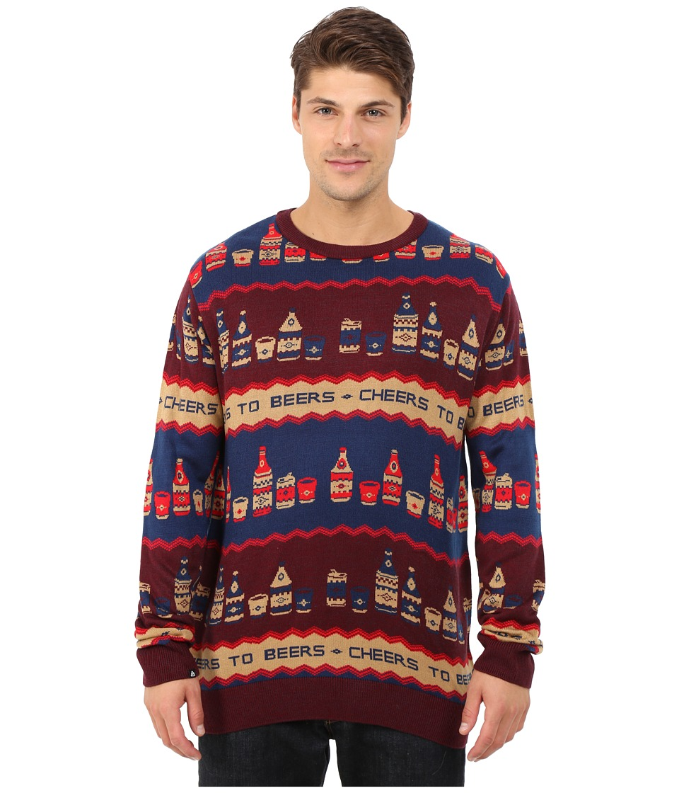 Matix Clothing Company - Top Shelf Sweater (Burgundy) Men's Sweater