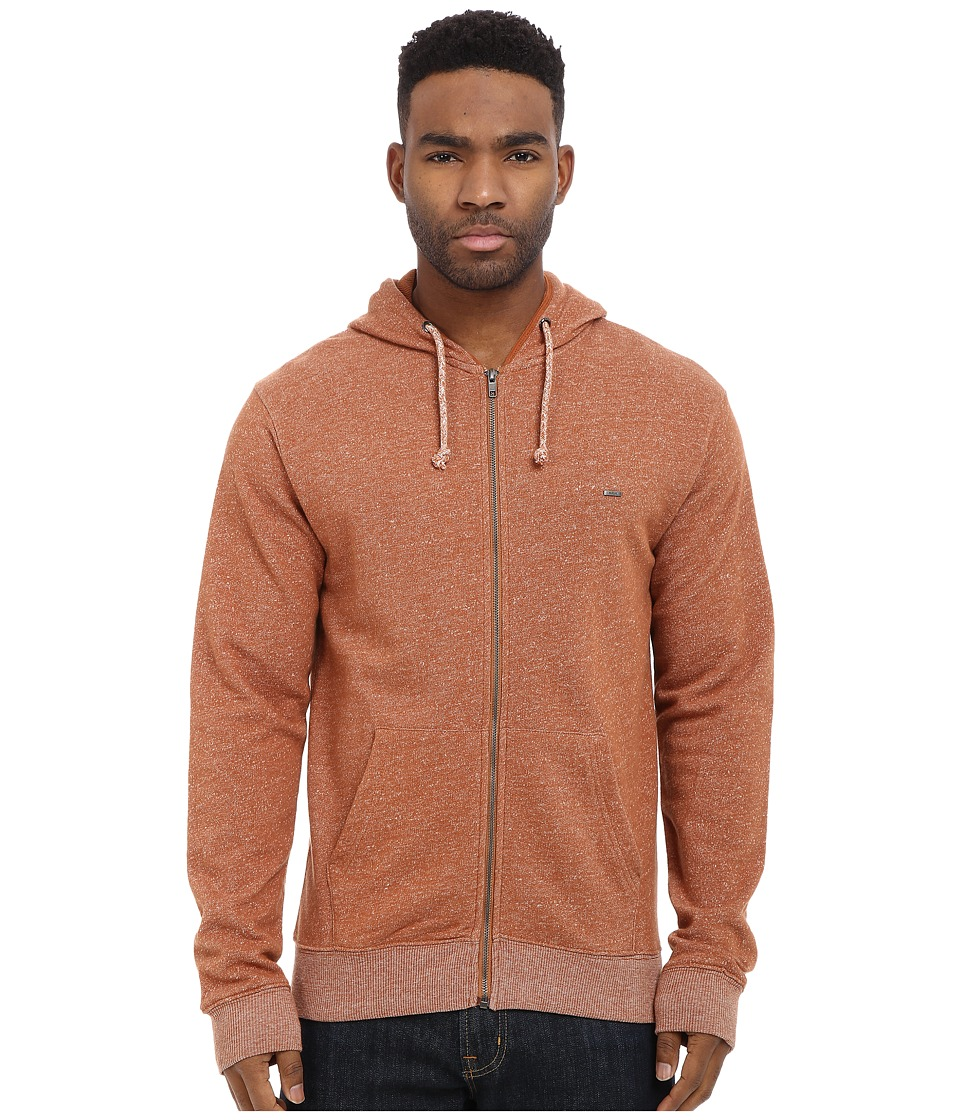 Matix Clothing Company - Smokey Zip Fleece (Caramel) Men's Sweatshirt