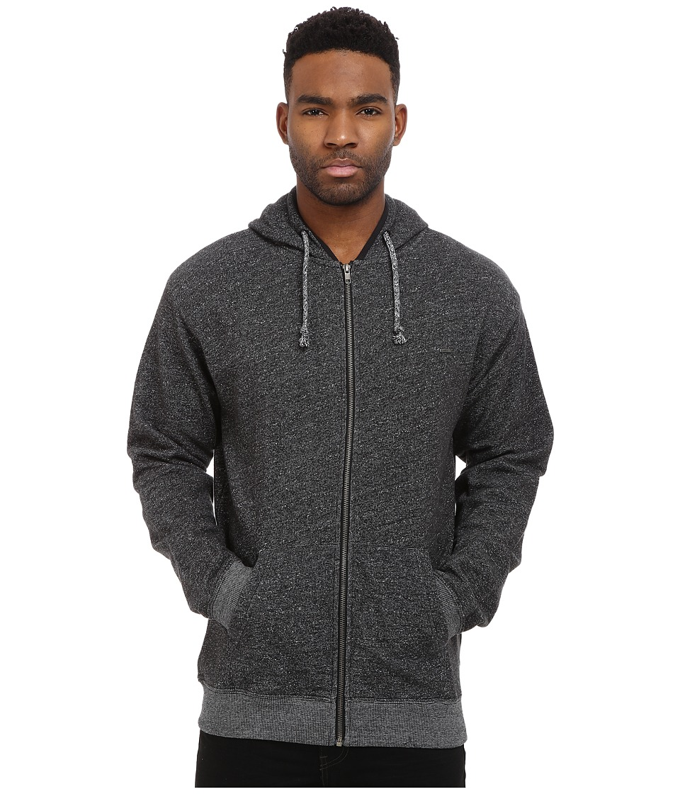 Matix Clothing Company - Smokey Zip Fleece (Black) Men's Sweatshirt