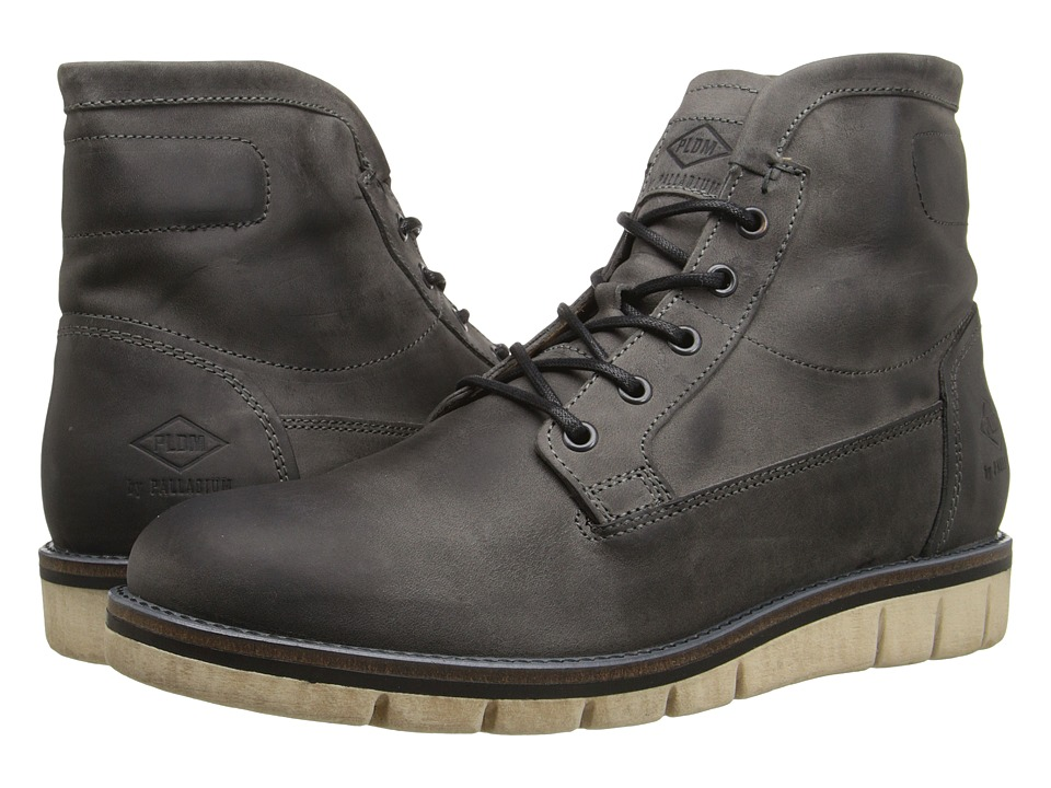 PLDM - Norco (Grey) Men's Lace-up Boots
