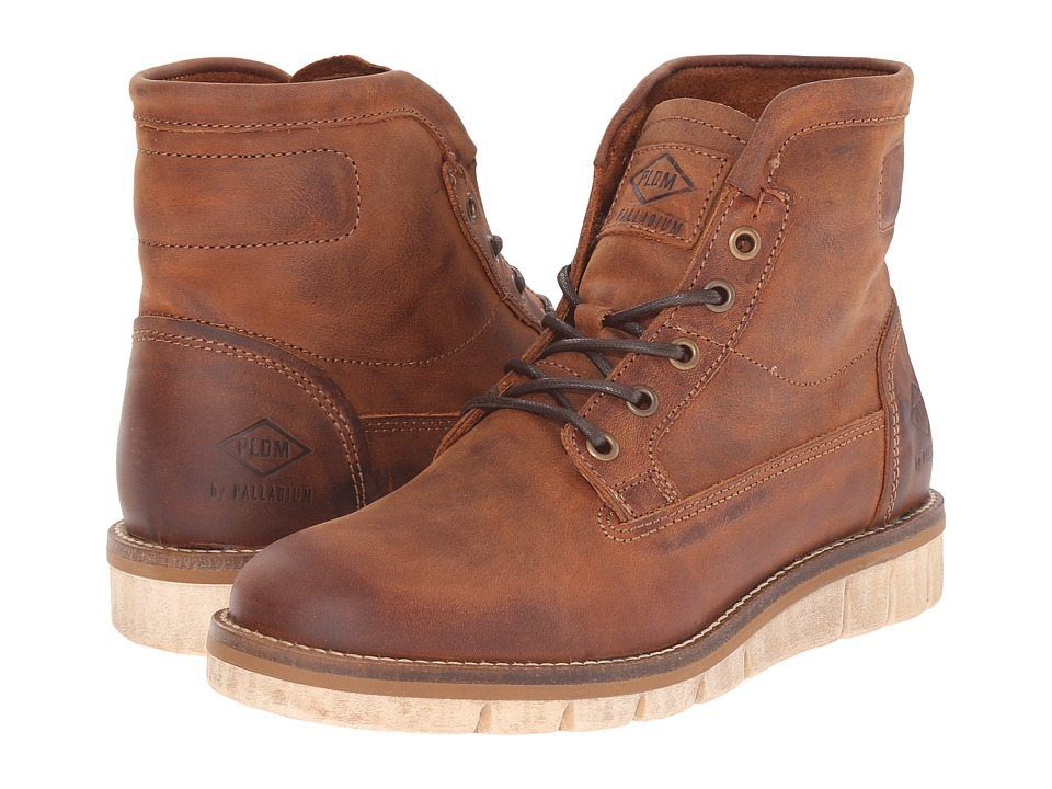 PLDM - Norco (Cognac) Men's Lace-up Boots