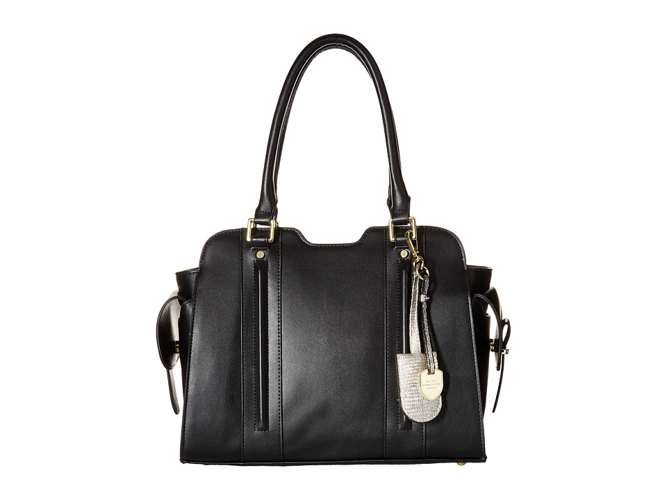 London Fog - Regent Satchel (Black) Satchel Handbags