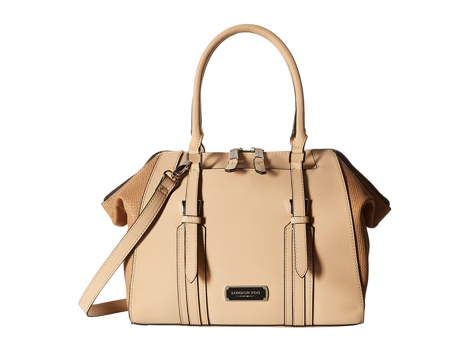 London Fog - Shay Satchel (Sand) Satchel Handbags