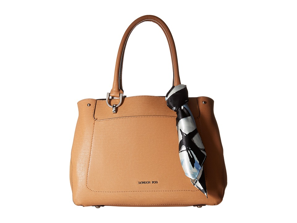 London Fog - Wembley Tote (Toffee) Tote Handbags
