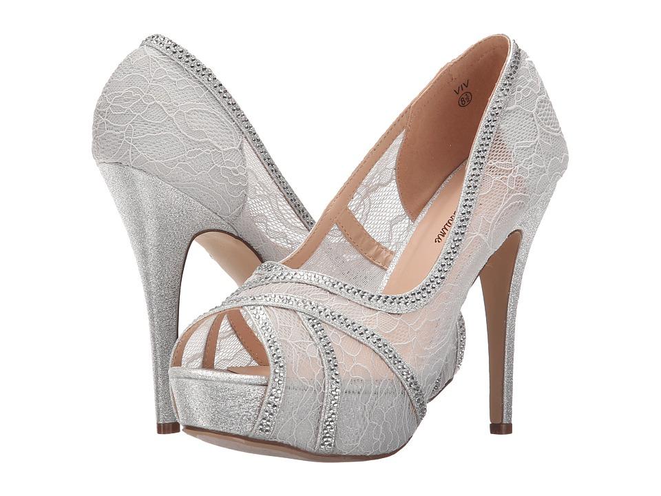 Lauren Lorraine - Viv (Silver) Women's Shoes